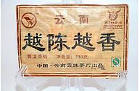 Чай Шу Пуэр Юндэ Юэ Чэнь Юэ Сян 2010 Год, От 10 Грамм, фото 1