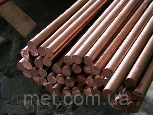 Круг медный 15 мм М1,М2,М3