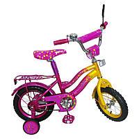Велосипед детский 2-х колесный 14 дюймовые колеса 151410
