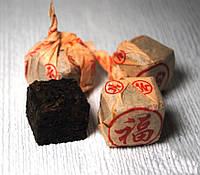 Чай Шу Пуэр Юндэ Шу Ча 2008 Год, Таблетка 8-9 Грамм, фото 1