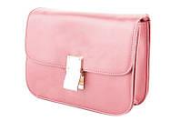 Женская розовая сумка Celine Classic Box