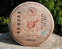 Чай Шу Пуэр Юндэ Шу Бин 2011 Год, От 10 Грамм (ЦЕНА ЗА 1 ГРАММ!), фото 1