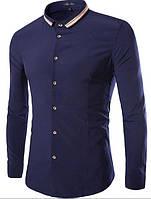 Синяя рубашка Жакомо