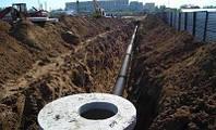Прокладка трубопровода наружных инженерных сетей
