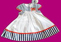 Яркое платье для маленькой модницы, 9 мес., ToBeToo, Италия