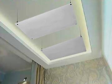 Комплект крепления к потолку для панелей HGass, HSteel, фото 2