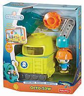 Набор Октонавты - Машина-Пила и Пингвин ПЕСО Fisher-Price Octonauts Octo-Saw Vehicle, фото 1
