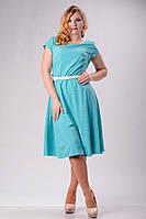 """Стильное платье для пышных дам """" Мелкий горох """" Dress Code, фото 1"""