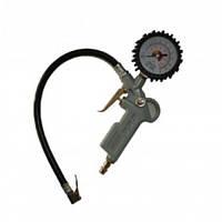 """Пистолет для подкачки колес с манометром (блистер) """"AIRKRAFT""""  STG-05"""