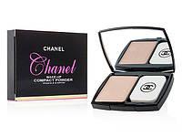 Пудра для лица компактная  Chanel с витамином Е
