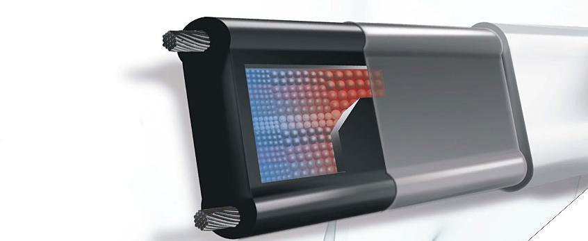 Саморегулирующийся нагревательный кабель 25 ватт