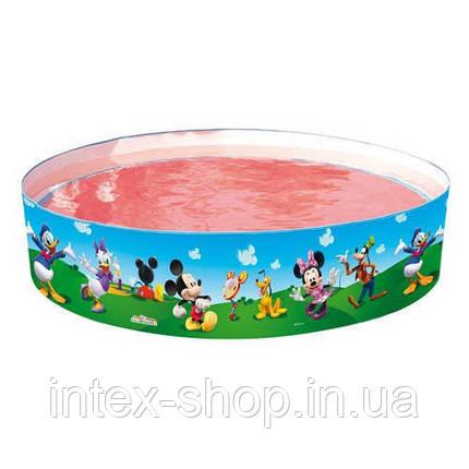 Каркасный бассейн с жесткими бортами Miki Maus Bestway 91009, фото 2