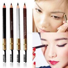 [ Карандаж и трафарет для макияжа ] 4 трафарета для бровей + 1 карандаш с щеткой для бровей - Эльмакс - лучшие товары и низкие цены в Полтаве
