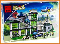 """Конструктор """"Полиция - Полицейский участок"""" 430 деталей Brick 110"""