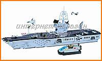 """Конструктор """"Авианосец"""" 990 деталей Brick-113"""