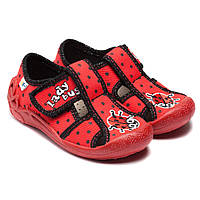 Красные тапочки Vi-GGa-Mi для девочки, размер 20-26