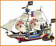 """Конструктор """"Пиратский корабль (большой)"""" 487 деталей Brick 311"""