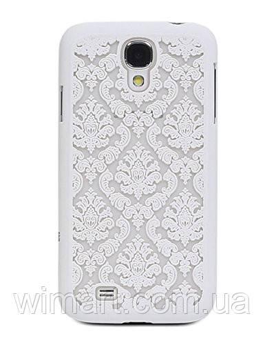 Пластиковый чехол Vintage Damask White для Samsung Galaxy S4 i9500