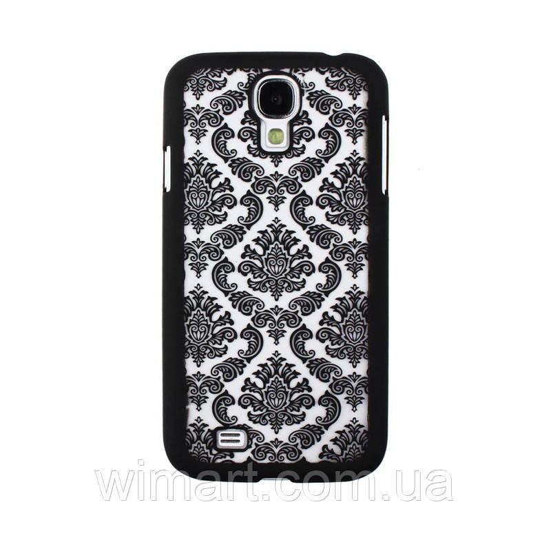 Пластиковий чохол Vintage Damask Black для Samsung Galaxy S4 i9500