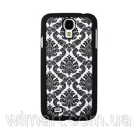 Пластиковый чехол Vintage Damask Black для Samsung Galaxy S4 i9500