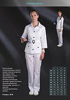 Куртка медицинская женская Элис (чорн)  р 52