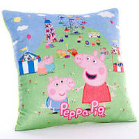 Мягкая подушка Пеппа 30*30*11 см