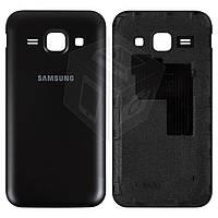 Задняя крышка батареи для Samsung Galaxy J1 J100H / DS, синяя,оригинал