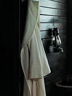 Махровый халат из гидрохлопка Eke Home MASAL ECRU s