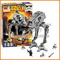 Конструктор Bela 10376 аналог LEGO Star Wars Вездеходная оборонительная платформа 499 дет