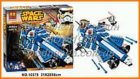 Конструктор Bela 10375 аналог LEGO Star Wars Истребитель Энакина 369 дет