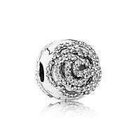 Бусина Pandora Сверкающая роза