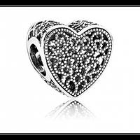 Бусина Pandora Романтические узоры