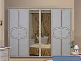 Шкаф Матрина 6Д/зеркало (Миро-марк), фото 2