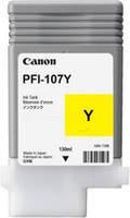 Картридж Canon PFI-107Y (yellow) дляiPF670/770, 90 мл