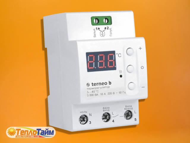 Терморегулятор цифровий terneo b