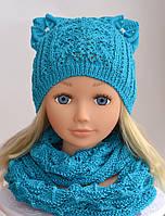 Детская шапка котенок , фото 1