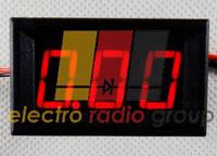 Амперметр цифровой постоянного тока DC-A56 0-10A