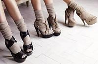 С чем носить женские носки?
