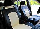 Чехлы на сиденья из экокожи разные цвета универсальные STANDART 2, фото 2