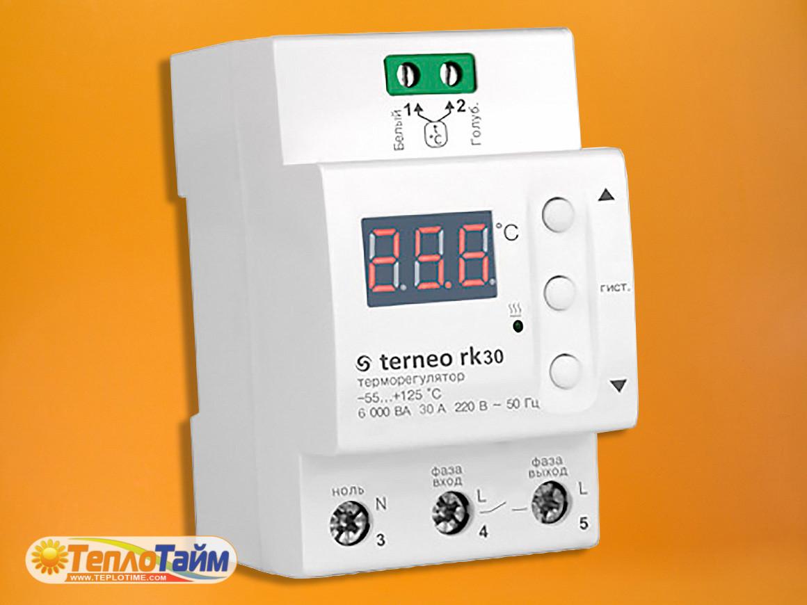 Терморегулятор terneo rk 32 А