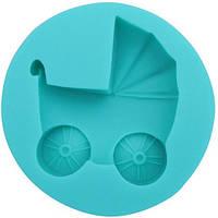 🔥✅ Молд коляска Empire 8234 формочка для создания объемных украшений из мастики