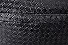 Стильный кожаный плетенный рюкзак., фото 5