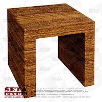 Абаковый кофейный, журнальный, угловой стол (оплетённый веревкой из абаки)