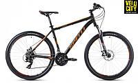 Велосипед Spelli SX-2500 29ER disk черно-оранжевый