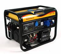 Генератор бензиновый однофазный FORTE FG6500EA (5кВт, +авто)