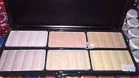 Профессиональная палитра для макияжа pt16 пудра 6 цветов #2