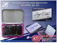 J.Otten Штемпельная подушка, черная, 10.5*7.0 см арт. 29604