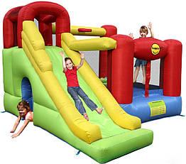 """Детский надувной батут игровой центр аттракцион """"6 в 1"""" Happy Hop"""