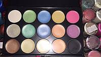 Профессиональная палитра для макияжа pt35 тени 15 цветов на жирной основе