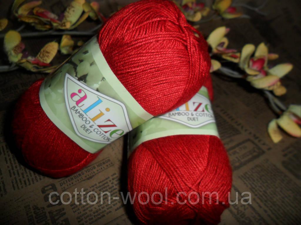 Alize Bamboo & Cotton Бамбук и Коттон (Дует)  106